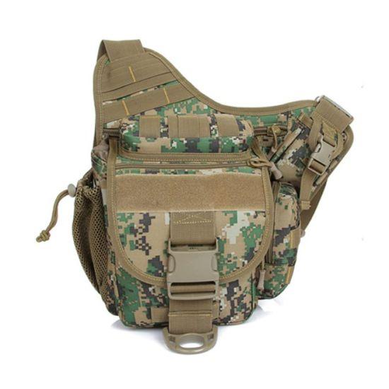 Men Motorcycle Military Camera Army Outdoor Hunting Tactical Cordura Saddle Bag
