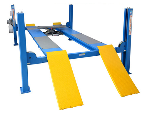 Factory for Workshop Hydraulic 4post Car Lift Movable with Ce for Sale