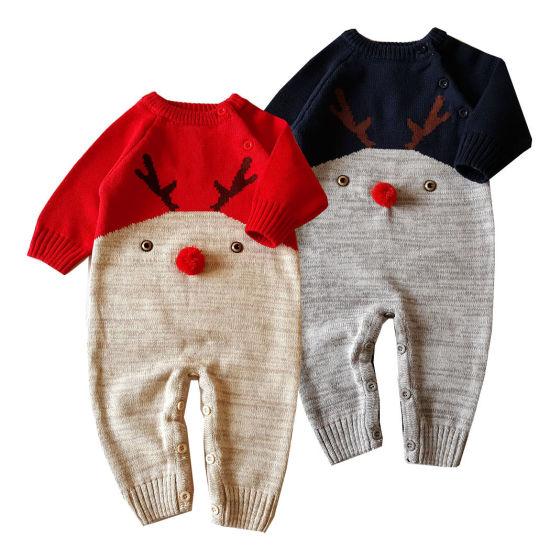 Chirtsmas Series Baby Jumpsuit Cute Style Jumpsuit