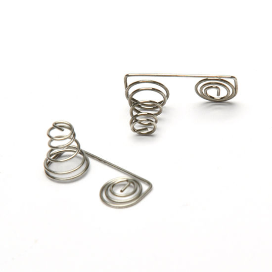 Hourglass Stainless Steel Precision Bottle Coil Compression Spring