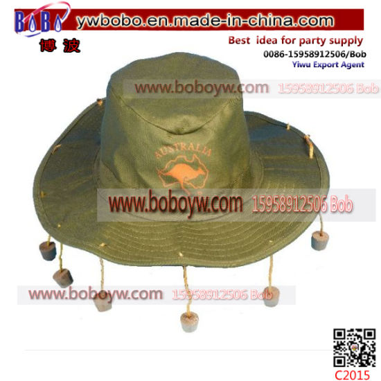 Party Items Traditional Australian Hat Cotton Cap Business Gift (C2015)
