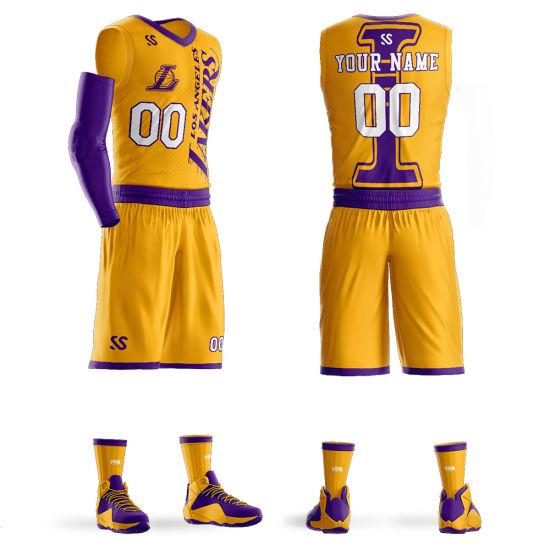 Wholesale Basketball Clubbasketabll Jersey Sportswear Suit
