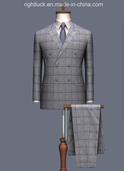 China Men`S Suit Factory Produce Fashion Formal Business Men`S Suits Dress Pants Vest Uniform