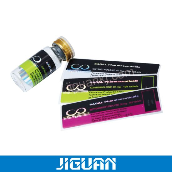 10ml Hologram Medicine Vial Labels for Steroid
