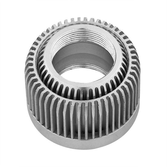 6063 Customized Machined Aluminum Heatsink for Electronics and CNC Hardware pictures & photos
