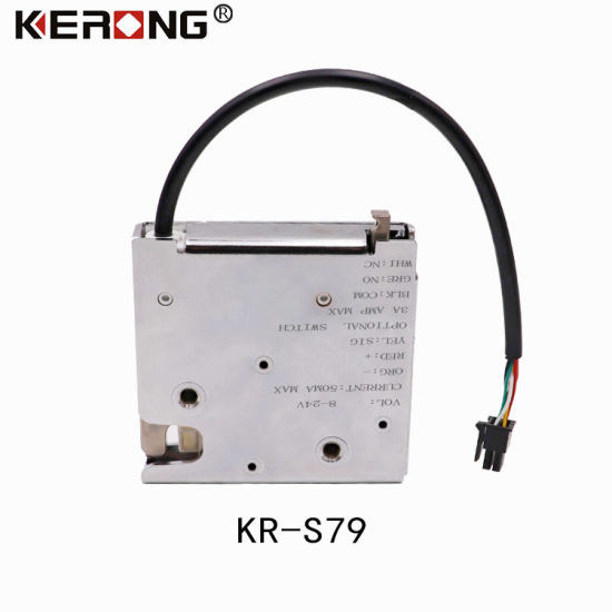 China Kerong Keyless Electric Cabinet Door Lock 12v With Remote