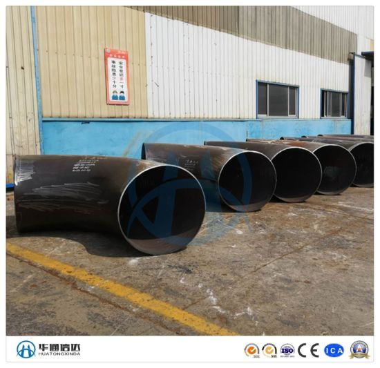180 Degree Long Radius Sch40 Carbon Steel Pipe Fitting Elbow