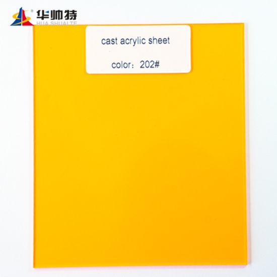 Lead Supplier Building Material Cast Acrylic Sheet Colored Plexi Glass