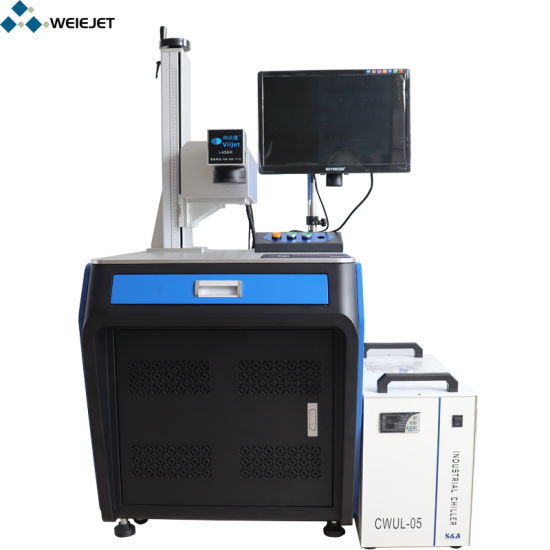 Superfine UV Laser Marking/Coding/Engraving Machine for High Class Cosmetics Bottle