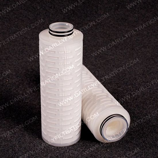 83mm Od PP Pleated Filter Cartridge for Water Treatment in Microelectronics pictures & photos