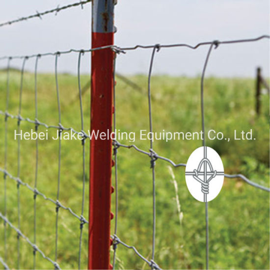 High Tensile Fixed Knot Woven Cow Wire Fencing