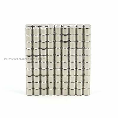BULK PACKS N52 3mm dia x 4mm strong Neodymium rod magnets DIY MRO craft fridge