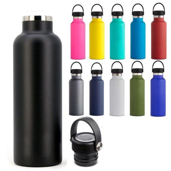 High Capacity Stainless Steel Heat Resistant Outdoor Travel Tumbler Bottle