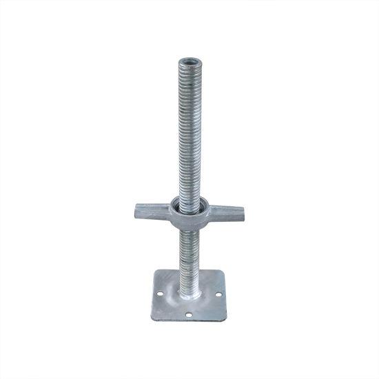 ANSI/Ssfi Sc-100/5-05 Certified Building Material / Adjustable Base Jack / Ringlock Scaffold for Construction