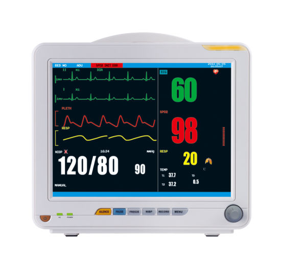 Kid Child and Adopt Tabletop Patient Monitor with Disposable ECG Electrodes