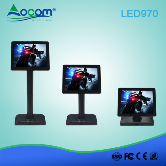 Factory Price Electronic LED Display Pole Adjustable Customer Display for Supermarket POS System pictures & photos