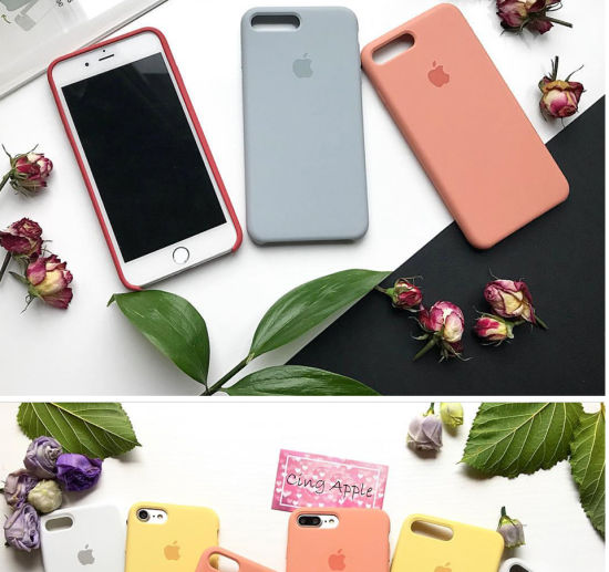 Colorful Liquid Silicone Shockproof Case Protective Mobile Phone Cover Case for iPhone 6/6p 6s/6sp 7/7p 8 pictures & photos