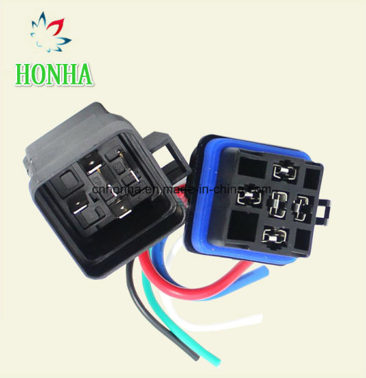 4 Pin 5 Pin Automobile Relay Socket Auto Relay Wire Harness ...  Pin Wire Harness on