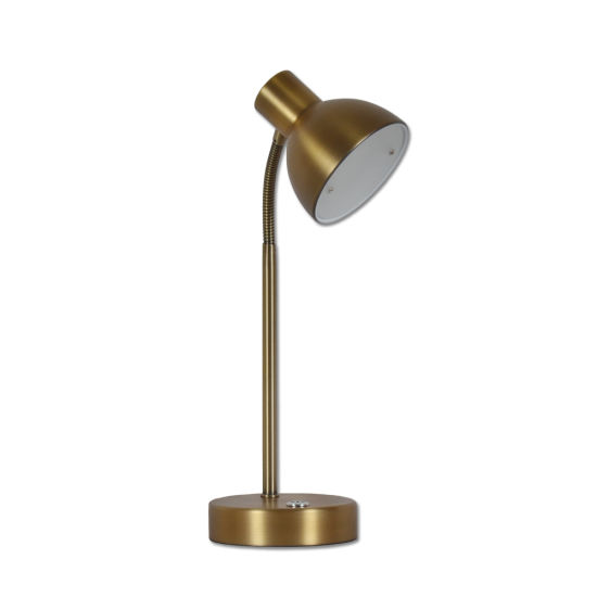 Hot Sale Hotel Table Light Modern Steel with Iron Glass Table Lamp