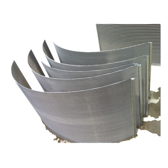 Stainless Steel Wedge Wire Curved Screen Water Dsm