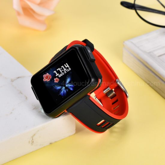 New Launched 1.4 IPS 5.0 Bt Call Remote Camera Heart Rate Blood Pressure Monitor Smart Bracelet with Redial T91