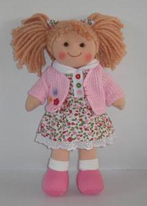 Wholesale Stuffed Soft Plush Rag Baby Toys Doll Handmade