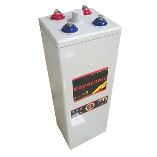 Koyosonic 2V 2500ah Opzv Battery Pure Gel Battery Tubular Battery