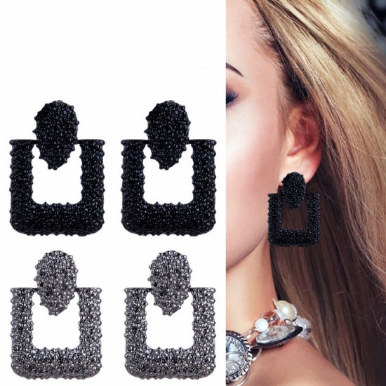 171cd55352c90 China New Fashion Earring Personality Exaggerated Geometric Earrings ...
