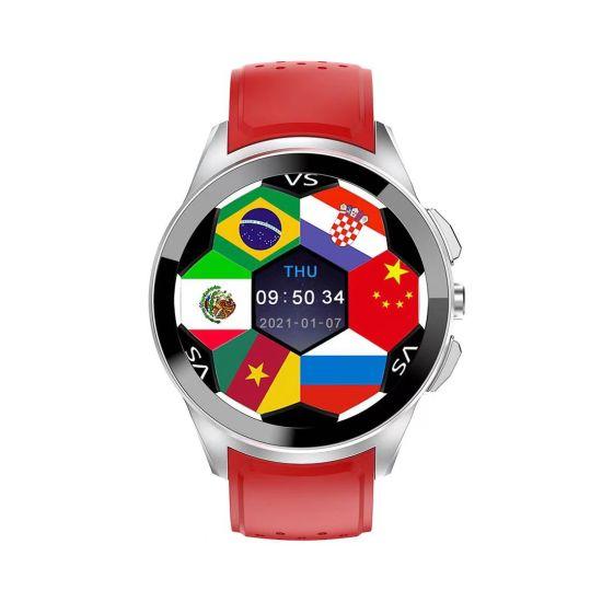 2021 Newest Metal Body 1.39 Inch Amoled 4G GPS Waterproof Magnetic Charging Heart Rate Monitor Sleep Monitor 4G Smart Watch Phone