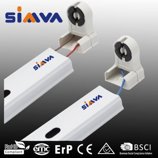 LED Lighting T5/T8 Double Side 120cm Integrated LED Tube Light Fixture, LED Tube Light Fixture, Bracket for Tube Light