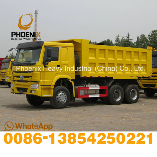 371HP Fairly Used HOWO Dump Truck 6X4 Tipper Truck with Excellent Condition for African Market