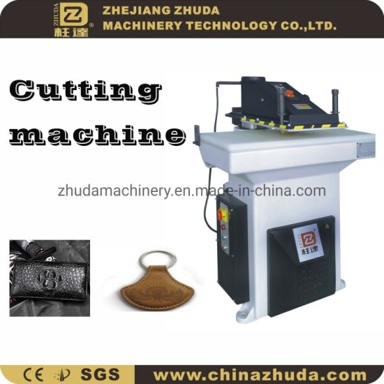 Zhuda Swing Arm Cutting Machine for Leather Sports Shoes