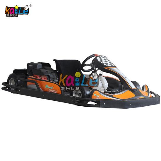 200cc Attractive Racing Car Game Heavy Duty Amusement Adult Rides Pedal Go  Kart