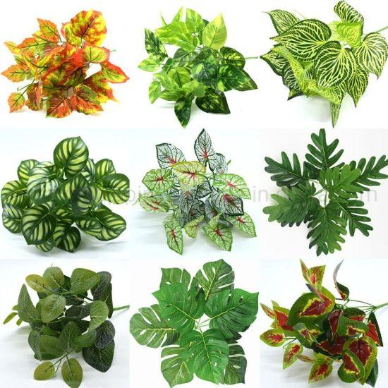 Wholesale Artificial Decorative Plastic Flower Bonsai Plant