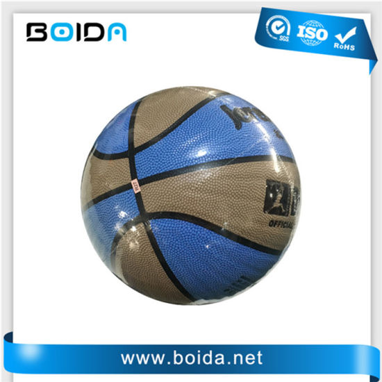 Promotional Waterproof PU PVC TPU Sport Rubber Basketball (B88300) pictures & photos