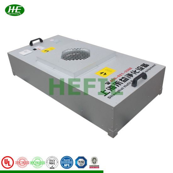 Cleanroom Ec DC Motor HEPA Fan Powered Air Filter Unit FFU pictures & photos