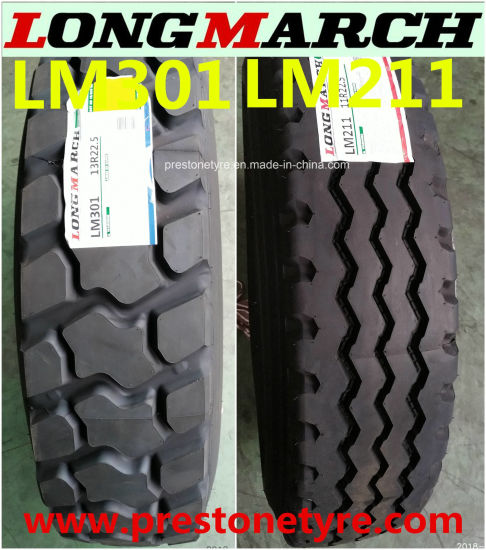 Super Quality 5 Steels Warranty 18 Months TBR Longmarch/Roadlux Drive Trailer Truck Radial Tires 315/80r22.5 385/65r22.5 11r22.5 13r22.5 12.00r20 12.00r24 Lm216 pictures & photos
