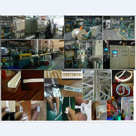 PVC-SMD-FPC Without Copper Wire Two Color One Times Extrusion Machine
