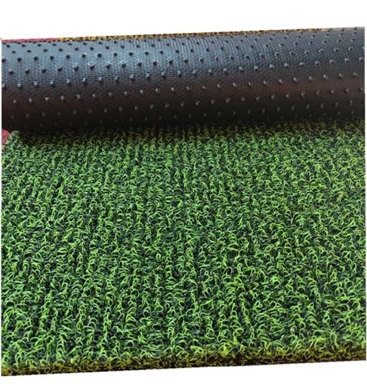 Eco-Friendly PVC Coil/Cushion Vinyl Mat with Spike/Nail Backing