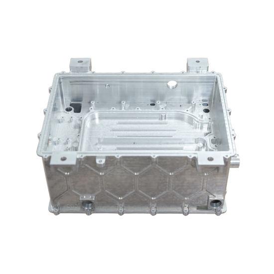 Custom CNC Machined Aluminum Enclosure Housing for Auto Car Part