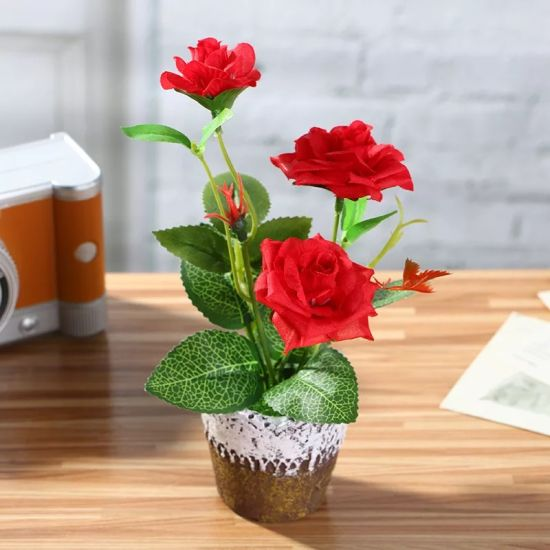 Indoor Creative Artificial Flower Plant Decor Bonsai