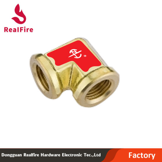 Brass Connector of Elbow with Double Internal Thread (Hydraulic Part)