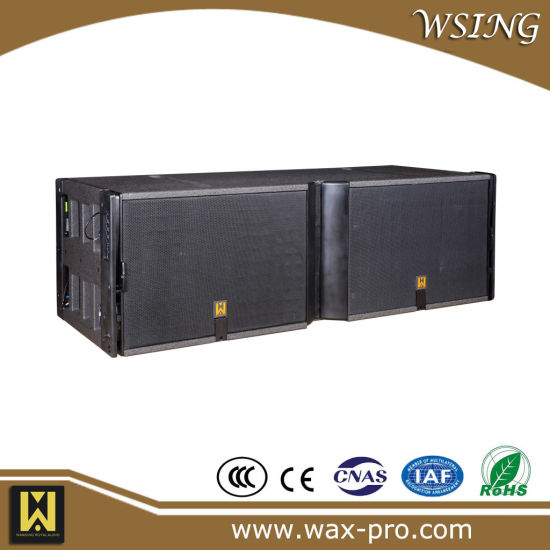 Double 15 Inch 600W Professional Sound Equipment System