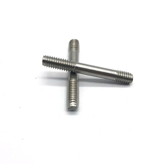 High Quality HDG Zinc Plated Double Thread Studs Bolts