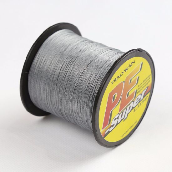 Super PE Braid Fishing Line Grey 10lb--Diaowan pictures & photos