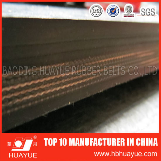 Abrasion Resistant Ep Fabric Rubber Conveyor Belt pictures & photos