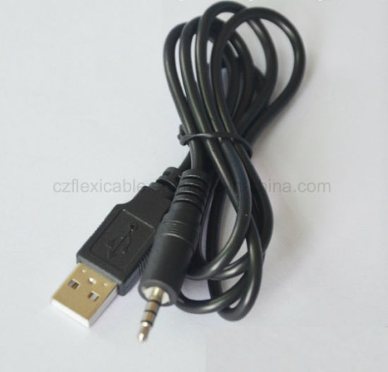 3FT USB Male to Aux 3.5mm Male Jack Cable