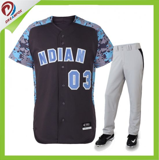 Factory Direct Sale Kids Full Dye Sublimation Baseball Jerseys Design pictures & photos