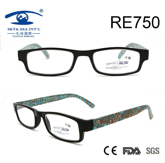 8a9a13cd20 New Style Flower Pattern Elegant Reading Glasses for Women (RE750) pictures    photos