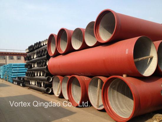 En545 ISO2531 En598 Di Ductile Cast Iron Pipe